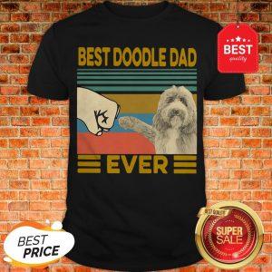 Official Vintage Best Doodle Dad Ever Shirt