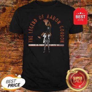 Official The Legend Of Aaron Gordon NBA Shirt