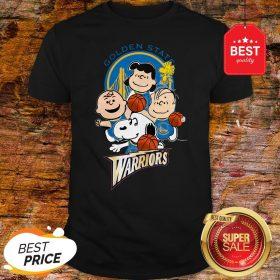Official The Peanut Golden State Warriors Shirt