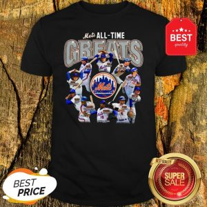 Official New York Mets All Time Greats Players Signatures Shirt