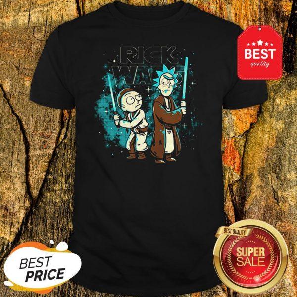 Official Rick And Morty Rick Wars Star Wars Shirt