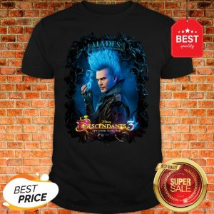 Official Disney Channel Descendants 3 Hades Shirt