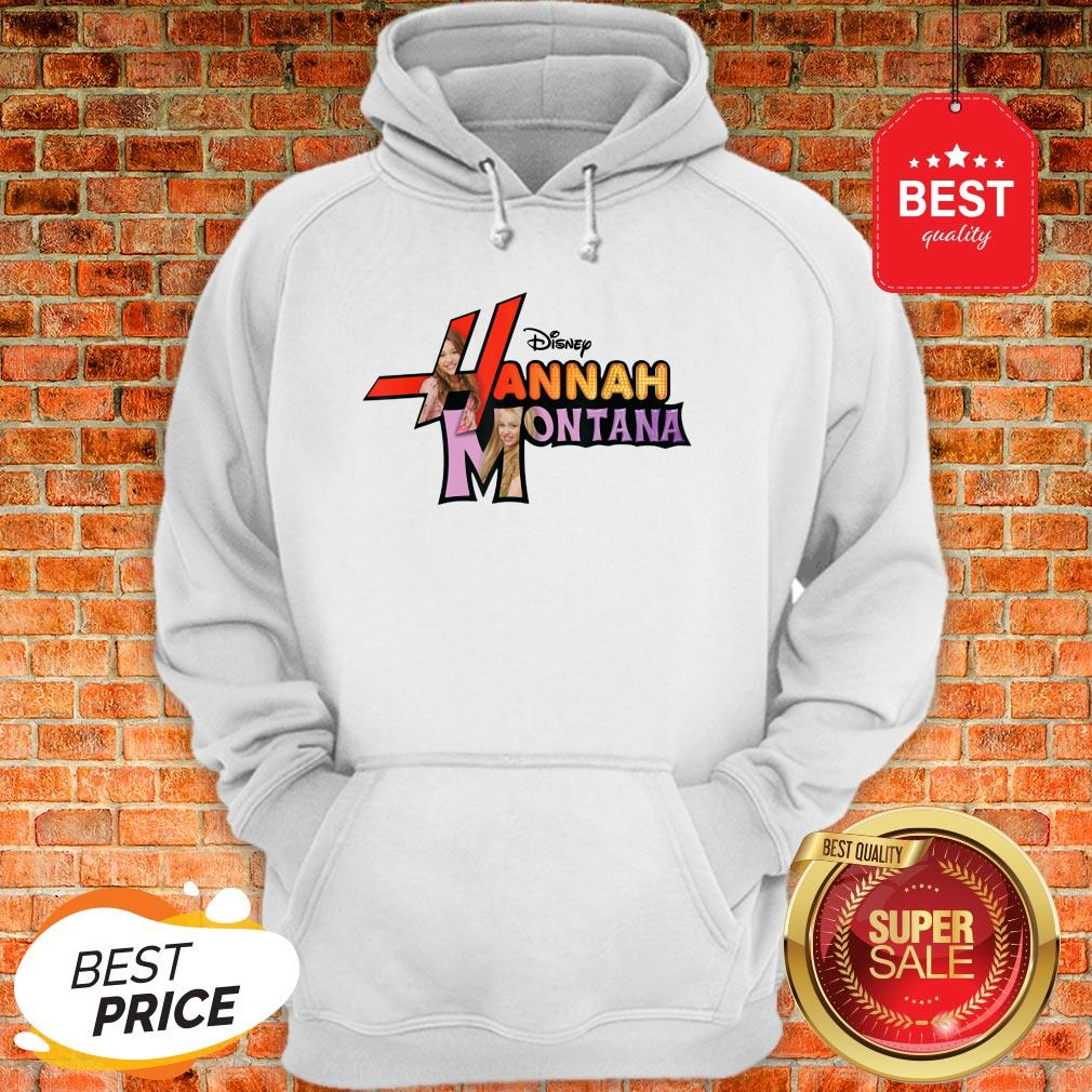 Official Disney Channel Hannah Montana Logo Hoodie