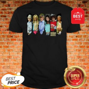 Official Disney Channel High School Musical Characters Shirt