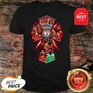Official Liverpool Football Club Signatures Cross Jesus Shirt