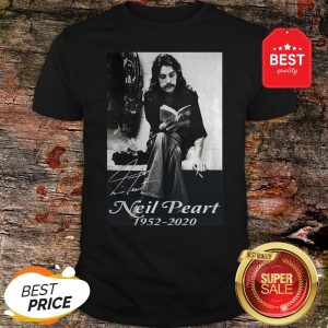 Official Signature Neil Peart 1952 2020 Poster Shirt