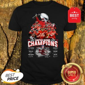 Official Super Bowl Champions 2020 Kansas City Chiefs Shirt
