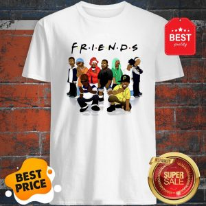 Official Friends We Are Black Legends Rapper's Shirt