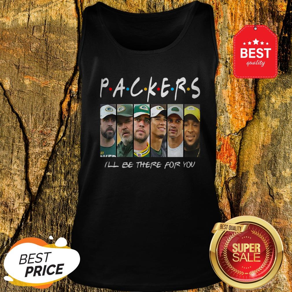 Official Green Bay Packers I'll Be There For You Tank Top