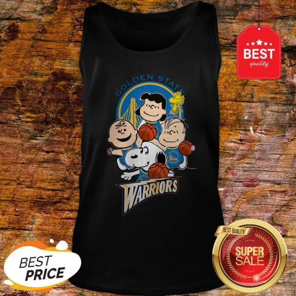 Official The Peanut Golden State Warriors Tank Top