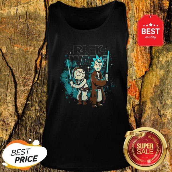 Official Rick And Morty Rick Wars Star Wars Tank Top