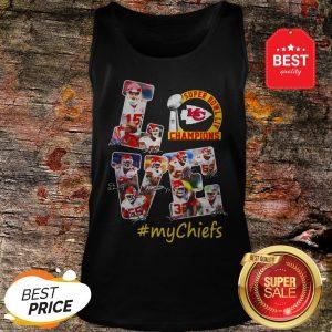 Official Love Super Bowl Champions Signature #mychiefs Kansas City Chiefs Tank Top