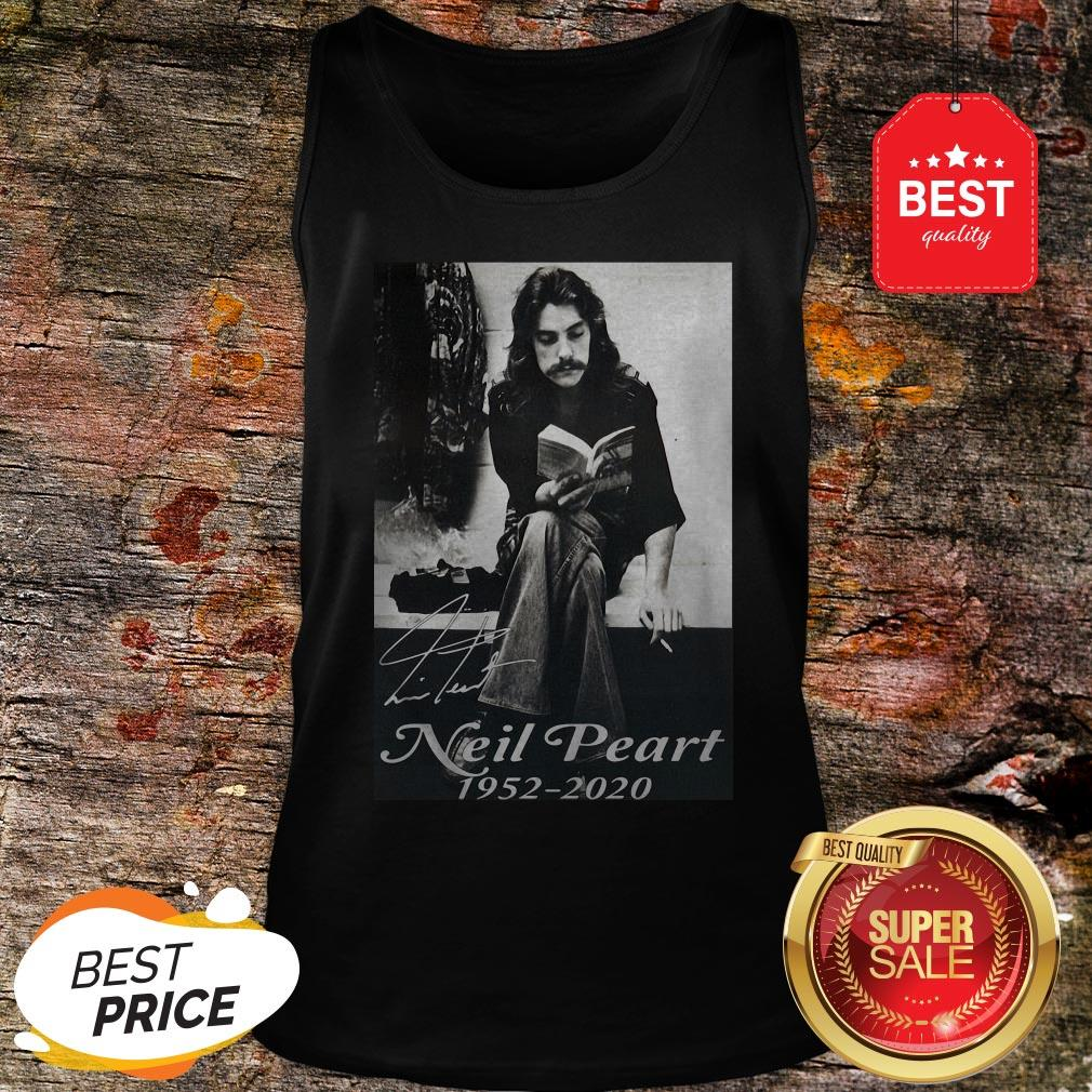 Official Signature Neil Peart 1952 2020 Poster Tank Top