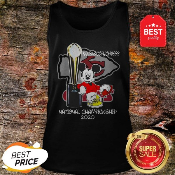 Official Mickey Kansas City Chiefs National Champions 2020 Tank Top