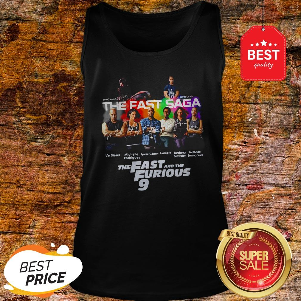 Official Sung Kang John Cena The Fast Saga The Fast And The Furious 9 Tank Top