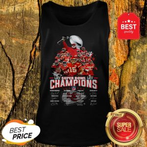 Official Super Bowl Champions 2020 Kansas City Chiefs Tank Top