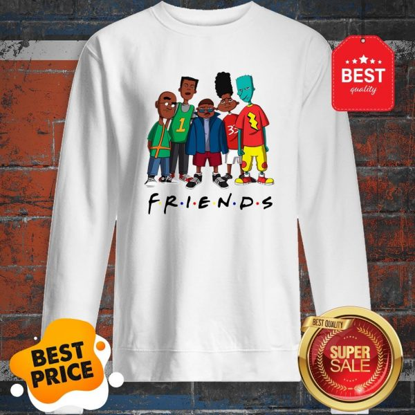 Official Friends We Are Black History Month Sweatshirt