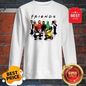 Official Friends We Are Black Legends Rapper's Sweatshirt
