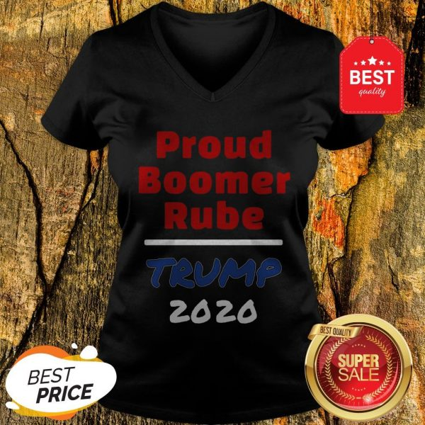 Official Proud Boomer Rube Trump 2020 V-Neck