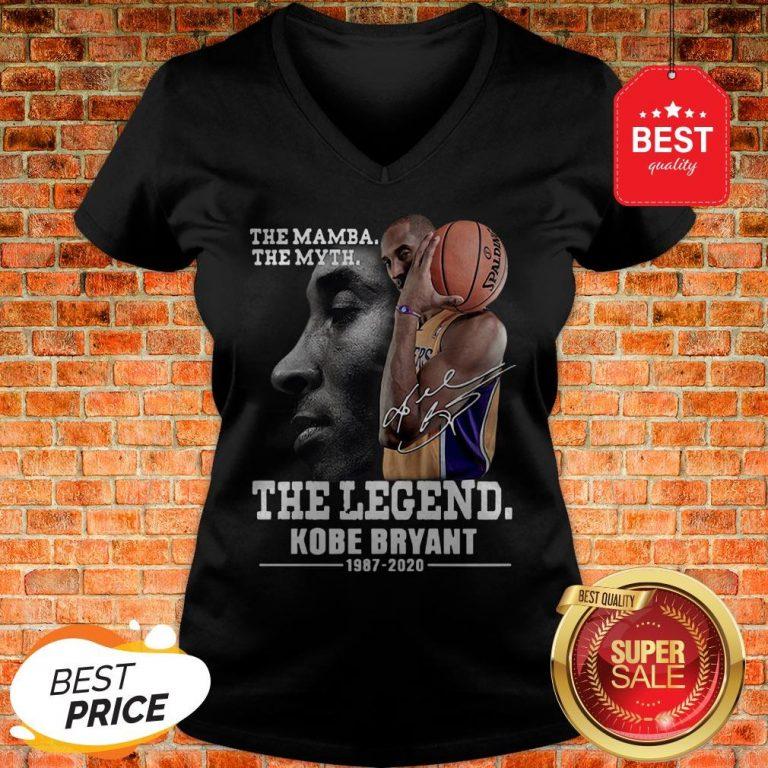 Official The Mamba The Myth The Legend Kobe Bryant 1987-2020 V-Neck