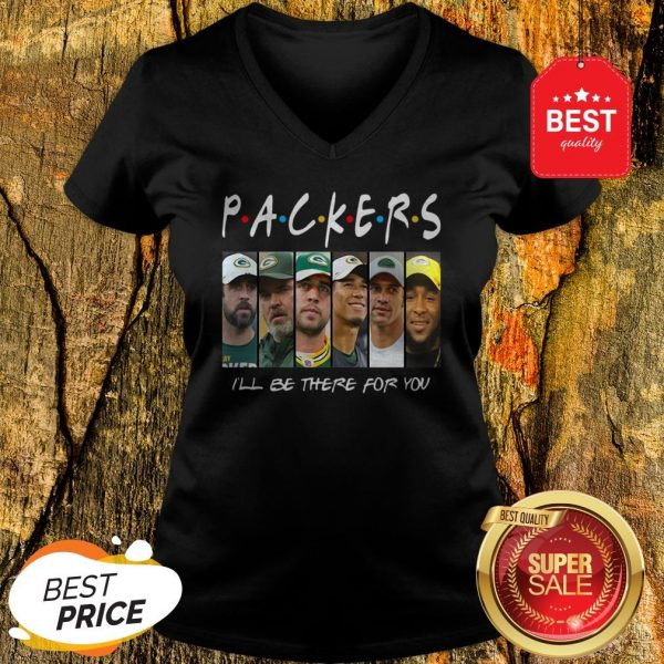 Official Green Bay Packers I'll Be There For You V-Neck