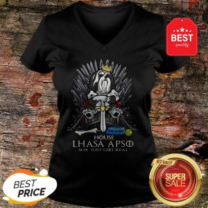 Official House Lhasa Apso Shit Just Got Real V-Neck