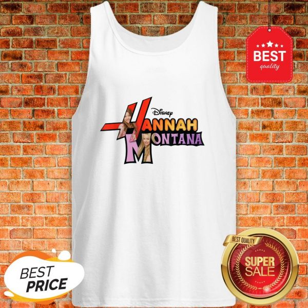 Official Disney Channel Hannah Montana Logo Tank Top