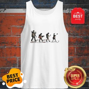 Official Stranger Things Mashup Abbey Road The Beatles Tank Top