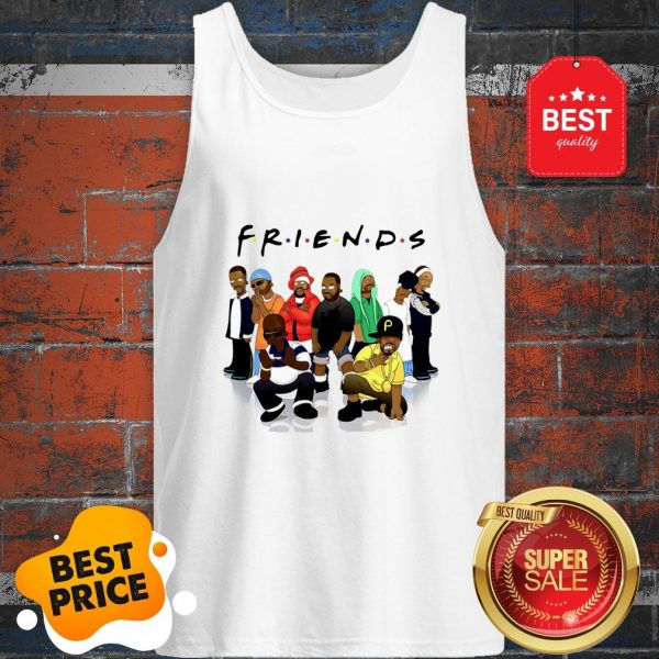 Official Friends We Are Black Legends Rapper's Tank Top