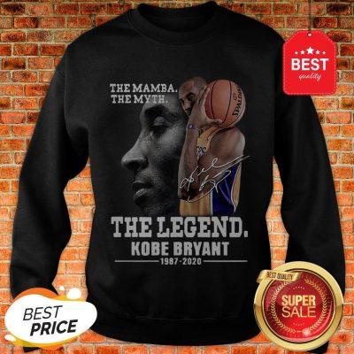 Official The Mamba The Myth The Legend Kobe Bryant 1987-2020 Sweatshirt