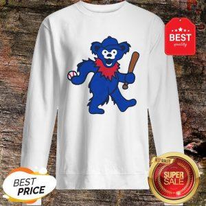 Official Grateful Dead Dancing Bear Baseball Sweatshirt