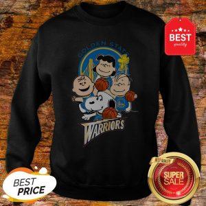 Official The Peanut Golden State Warriors Sweatshirt