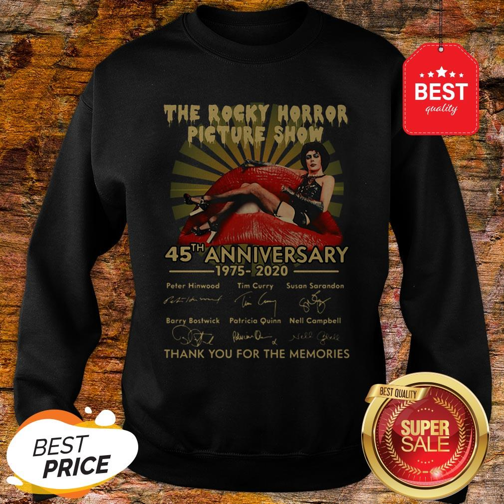 The Rocky Horror Picture Show 45th Anniversary 1975-2020 Signature Sweatshirt