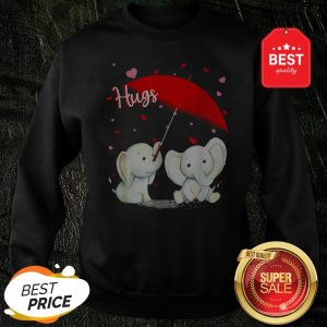 Official Valentine Elephant Hugs Sweatshirt