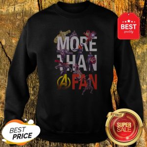 Official Marvel Avengers More Than A Fan Signatures Sweatshirt