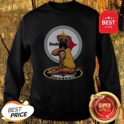Official Pitbull Tattoo Pittsburgh Steelers Sweatshirt