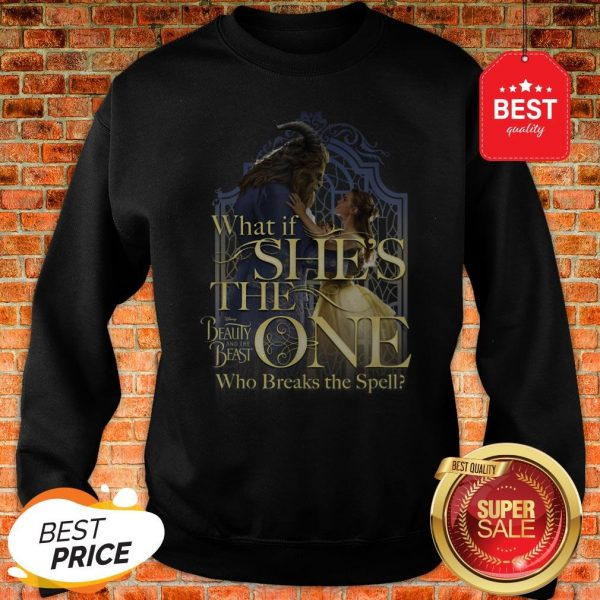 Official Disney Beauty And The Beast Belle Is The One Graphic Sweatshirt