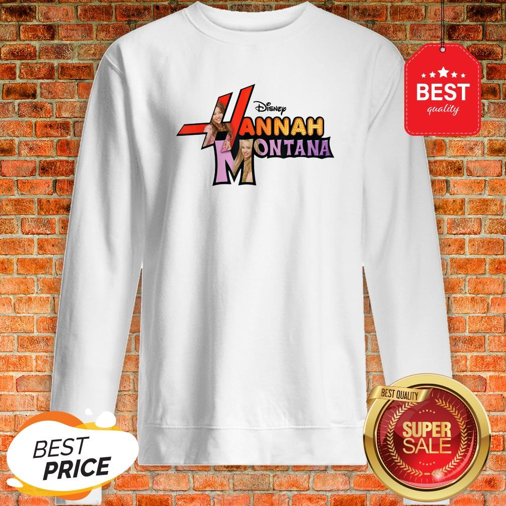 Official Disney Channel Hannah Montana Logo Sweatshirt