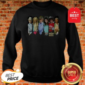 Official Disney Channel High School Musical Characters Sweatshirt