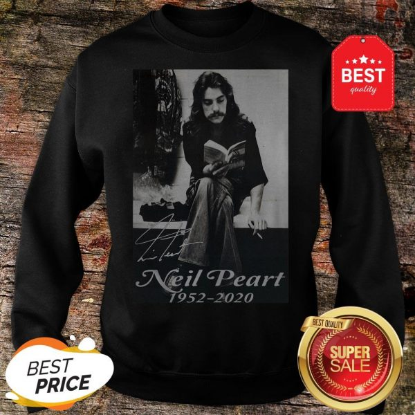 Official Signature Neil Peart 1952 2020 Poster Sweatshirt