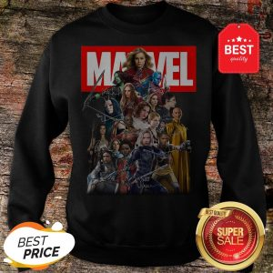 Official Marvel Avengers Woman MCU Signatures Sweatshirt