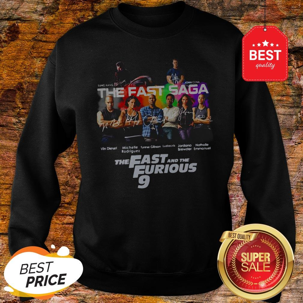 Official Sung Kang John Cena The Fast Saga The Fast And The Furious 9 Sweatshirt