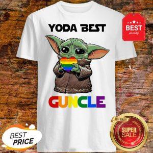 Official LGBT Baby Yoda Best Guncle Shirt