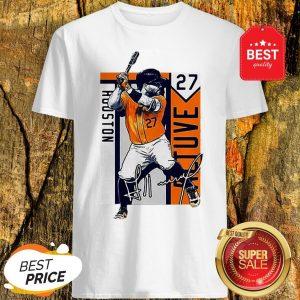 Official Houston Astros Hitman 27 Jose Altuve Signature Shirt