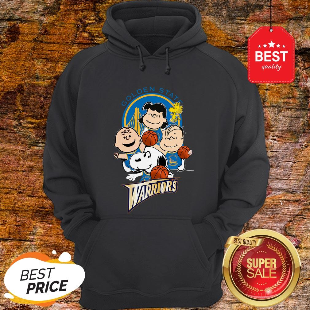 Official The Peanut Golden State Warriors Hoodie