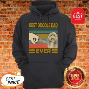 Official Vintage Best Doodle Dad Ever Hoodie