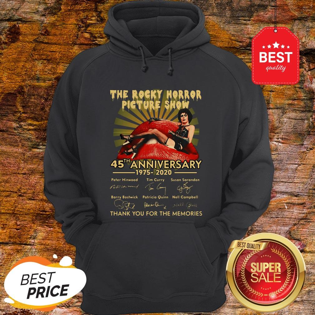The Rocky Horror Picture Show 45th Anniversary 1975-2020 Signature Hoodie