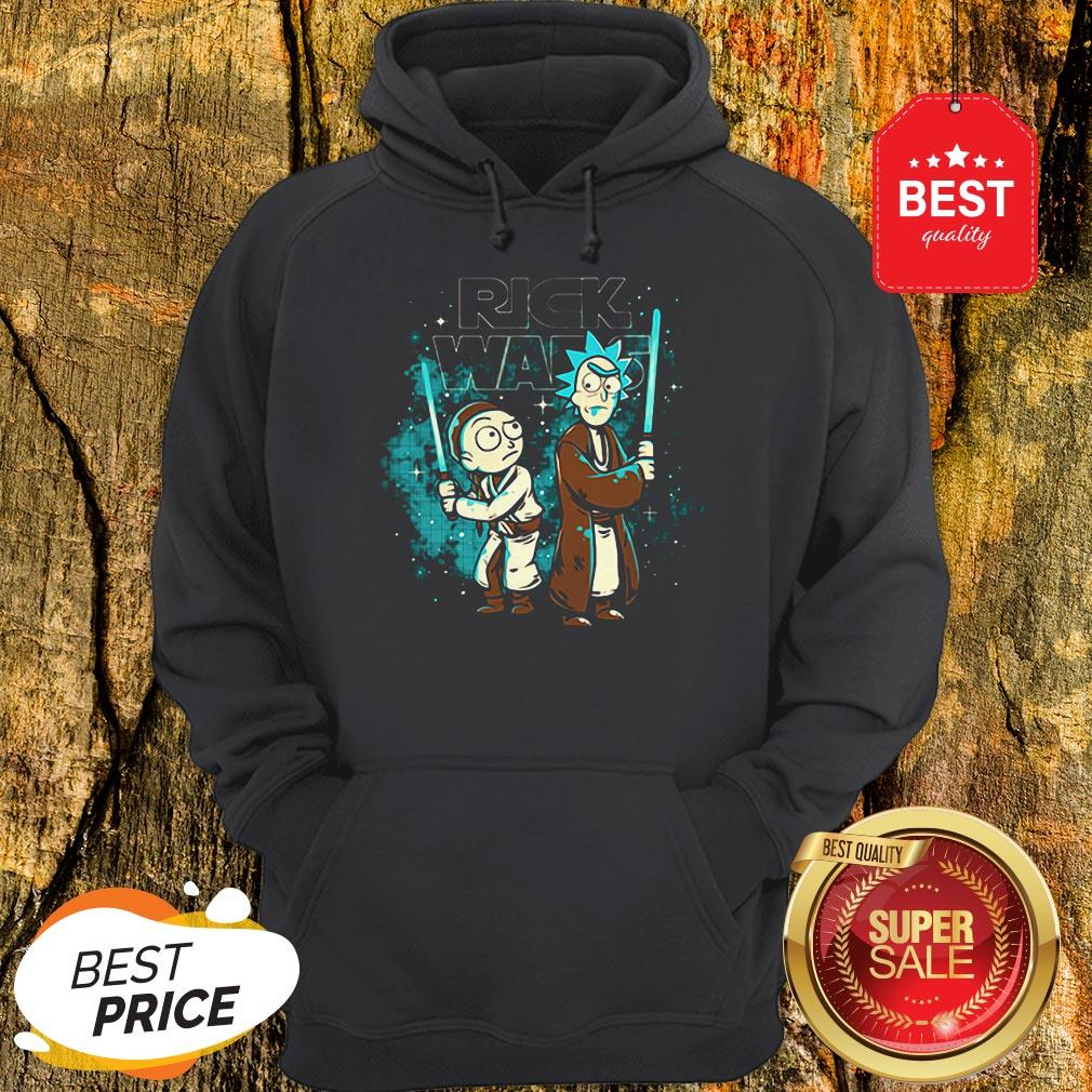 Official Rick And Morty Rick Wars Star Wars Hoodie