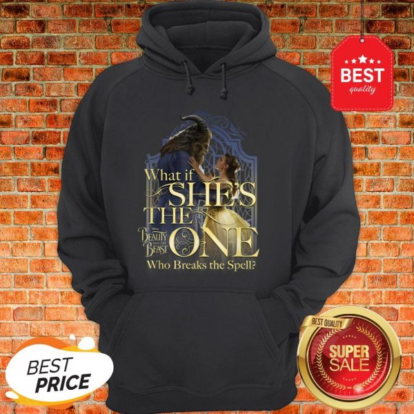Official Disney Beauty And The Beast Belle Is The One Graphic Hoodie