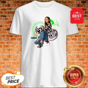 Official Disney Channel Gabby Duran And The Unsittables Swirls Shirt